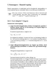 Renteregning | Matematiknoter
