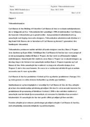 Carl Hansen and Søn   Virksomhedsanalyse   10 i karakter