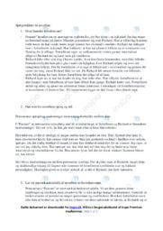 Fasaner | Dansk Opgave | Helle Helle | Spg 1-4
