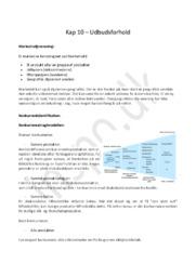 Afsætningsnoter Kapitel 10 – Udbudsforhold | HHX afsætning