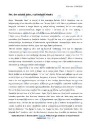 Danmarks Trøst | Analyse | N.F.S. Grundtvig | 12 i Karakter
