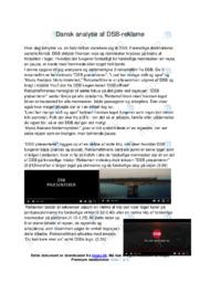 DSB præsenterer | Analyse | DSB | 12 i Karakter