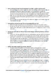 Michael Strunge   Noter Dansk   Spørgsmål 1-9