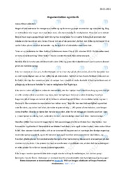 Takketale | Analyse | Jonas Eika | 10 i Karakter