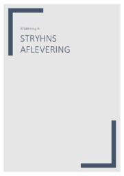 Stryhns AS   Virksomhedskarakteristik   10 i karakter