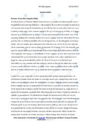 'Spøgelsesbilist'   Dansk opgave   10 i karakter