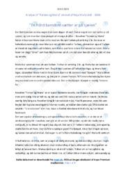 'Torben og Maria'   Novelleanalyse   10 i karakter