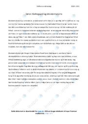Søren Kierkegaard og eksistentialisme | 10 i karakter