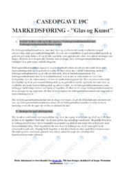 Glas og Kunst | Caseopgave 19c | 10 i karakter