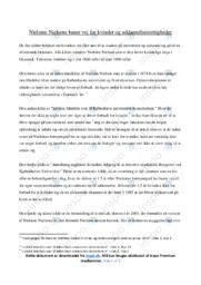Nielsine Nielsen for kvinders uddannelsesrettigheder | Noter