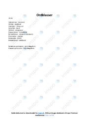 Almen sprogforståelse | Gode noter | Over 20 sider