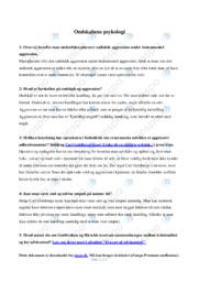 Ondskabens psykologi | Gode noter