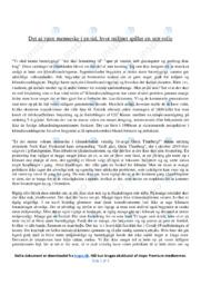 Bæredygtigt | Dansk Essay | 10 i Karakter