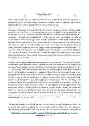 De røde sko | Analyse | H.C. Andersen | 10 i Karakter