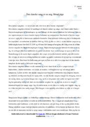 Den Danske Sangskat | Dansk Essay | 10 i Karakter