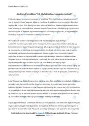 Giv digitaliserings tsunamien modspil | Analyse | Lone Nørgaard