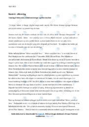 Mettes uønskede børn | Analyse | Poul Madsen | 10 i Karakter