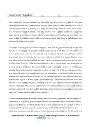 Klokken | Analyse | H.C. Andersen | 12 i Karakter