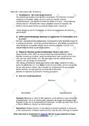 Det moderne gennembrud | Noter Dansk | Opgave 1-9