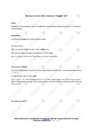 Skyggen | Noter Analyse | H. C. Andersen
