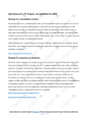 Indvielsen  | Analyse | A.W Schack von Staffeldt | 10 i Karakter