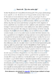 Fra den anden side | Analyse | Roskva Koritzinsky | 12 i Karakter