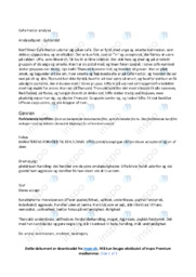 Café Hector | Noter Analyse | Lotte Svendsen