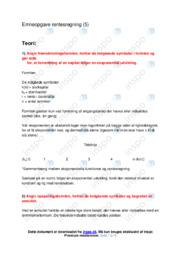 Renteregning | Emneopgave | 10 i karakter