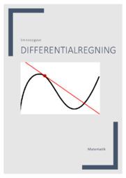 Differentialregning   EMneopgave   12 i karakter