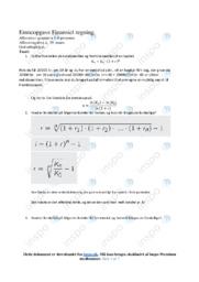 Finansiel regning | Emneopgave | 12 i karakter