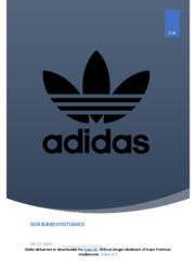 Adidas fokus på bæredygtighed og CSR-aktiviteter | SO