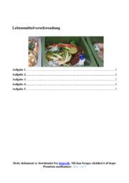 Lebensmittelverschwendung | 10 i karakter