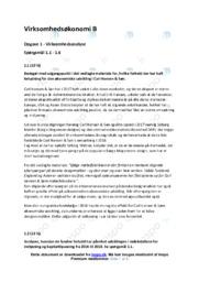 Carl Hansen & Søn | Økonomisk udvikling | VØ opgaver