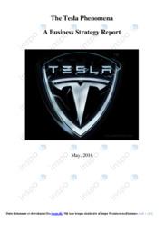 Tesla | Business strategy raport | 12 i karakter