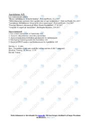 Aarstiderne AS | Afsætning | 12 i karakter