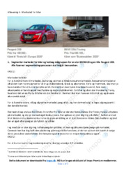 Markedet for biler | Afsætning | 10 i karakter