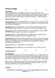 Hansens Flødeis | Virksomhedsanalyse | 10 i karakter
