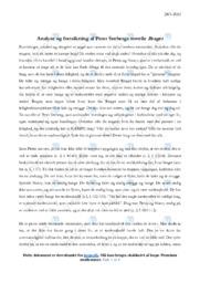 'Braget' | Novelleanalyse | 10 i karakter