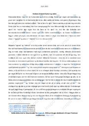 Cigaret | Analyse | Løvens Bule | 10 i Karakter