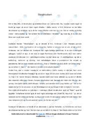 'Skrubtudsen'   Analyse og fortolkning   10 i karakter
