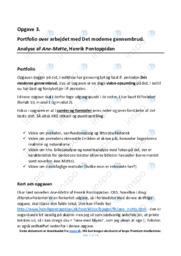 Ane-Mette | Noter Analyse | Henrik Pontoppidan