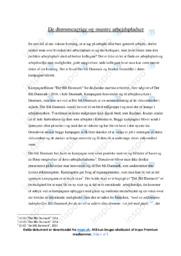 Det Blå Danmark | Analyse | Det Blå Danmark | 10 i Karakter