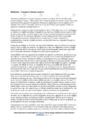 Rødhætte | Noter Analyse | Campari