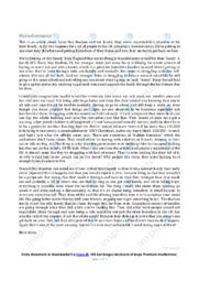Homelessness | Essay | 10 i karakter