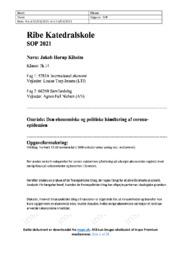 Corona   Økonomisk og politisk håndtering   SOP