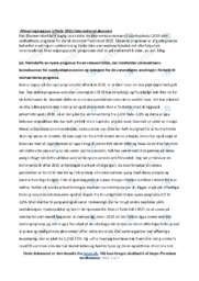 Corona økonomi | IØ opgave | 10 i karakter