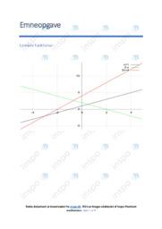 Lineære funktioner | Emneopgave | 10 i karakter