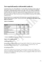 Toy's Økonomisk Analyse – Test Regnskabsanalyse | Virksomhedsøkonomi