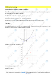 Differentialregning | Noter | Over 15 sider