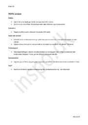 PESTEL-Analyse – Eksterne forhold i Virksomhedsøkonomien | Test